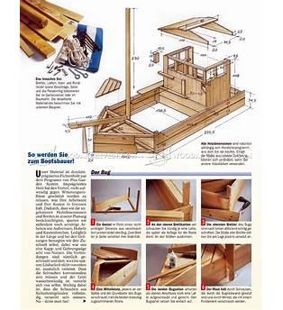 Wooden Boat Sandbox Plans