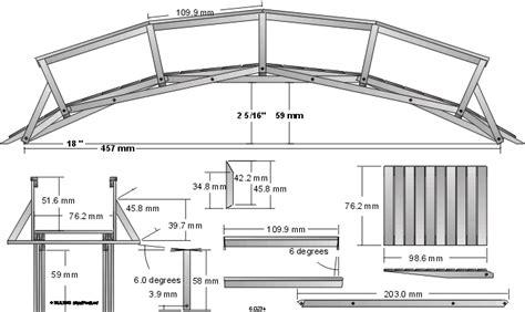 Wooden Bridge Plans
