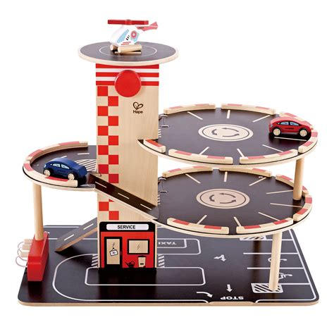 Wooden Car Park Toy