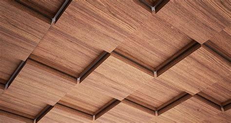 Wooden Ceiling Tiles