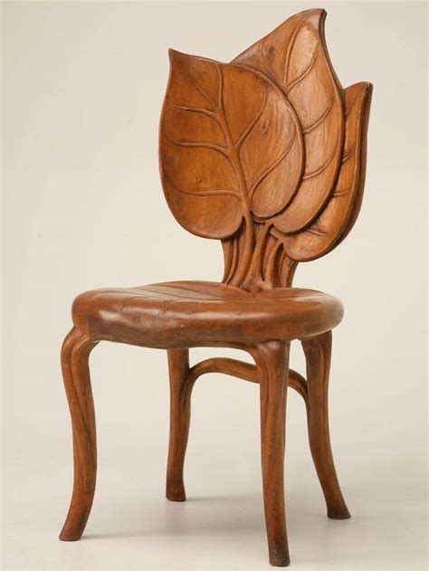 Wooden chair designs Image
