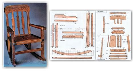 Wooden chair plans Image