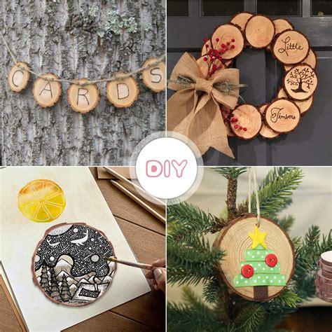 Wooden circles crafts Image