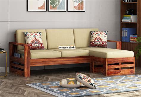 Wooden Corner Sofa Designs