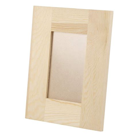 Wooden craft frames Image