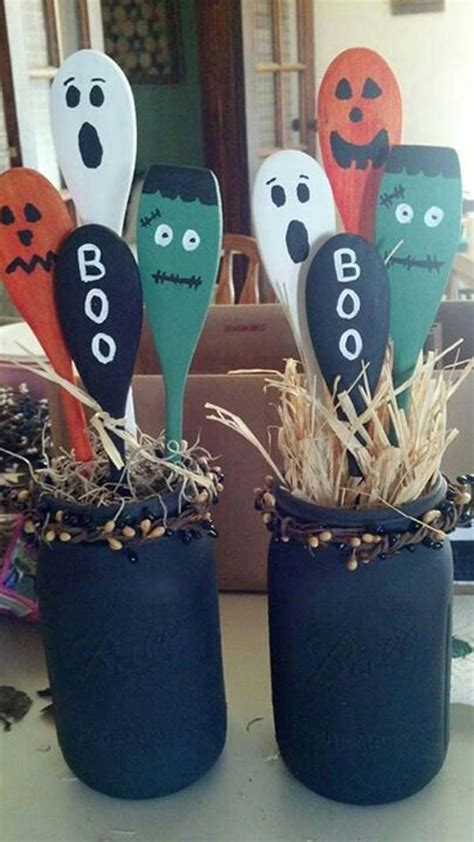 Wooden craft ideas for halloween Image