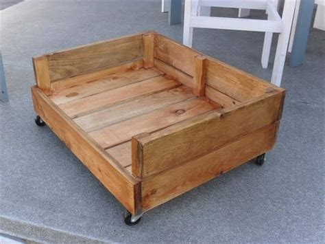 Wooden dog bed frame plans Image