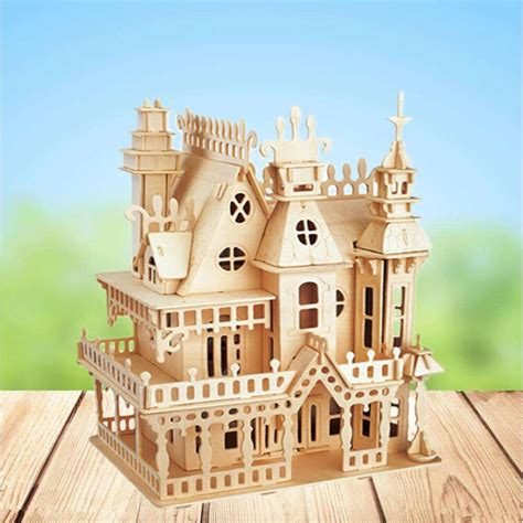 Wooden doll house project Image
