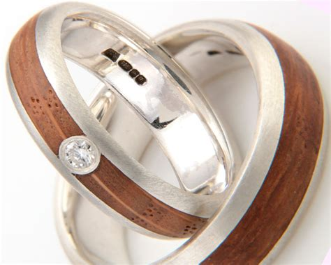 Wooden Engagement Rings Uk