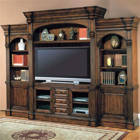 Wooden entertainment centers Image