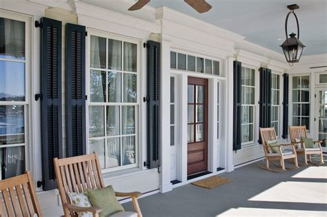 Wooden exterior shutters Image