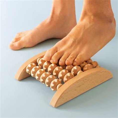 Wooden foot massager Image