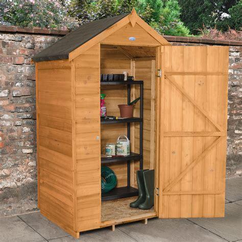 Wooden garden storage sheds Image