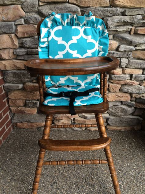 Wooden high chair pads Image