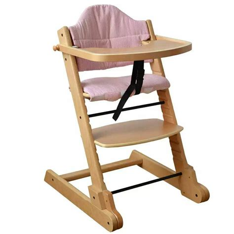 Wooden high chairs for babies Image
