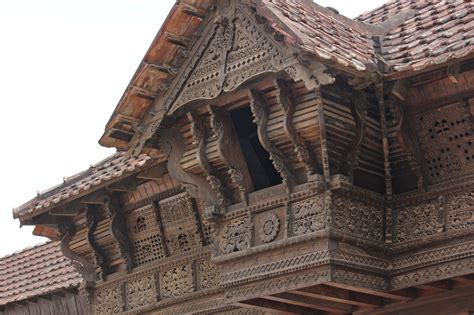 Wooden House in India