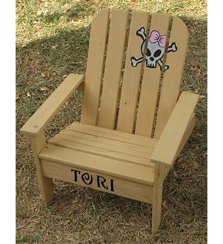Wooden Kid Chair Plans