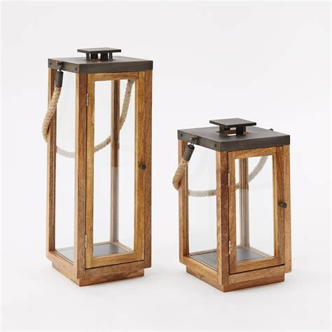 Wooden lanterns uk Image