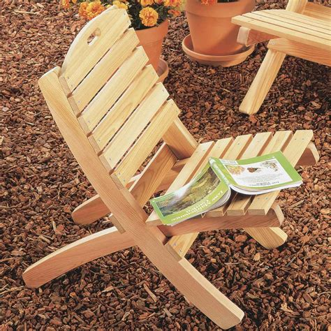 Wooden lawn chair plans Image