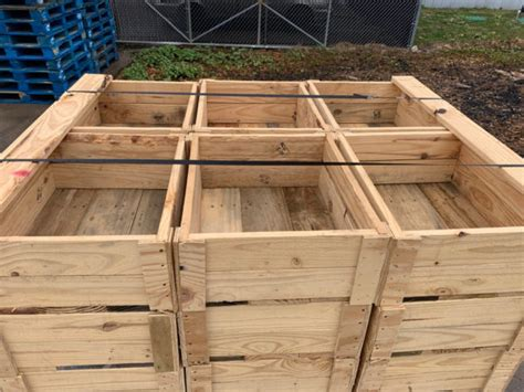 Wooden Pallet Boxes for Sale