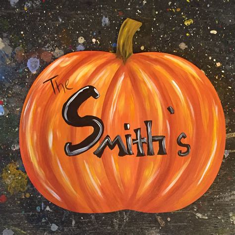 Wooden pumpkin cutouts Image