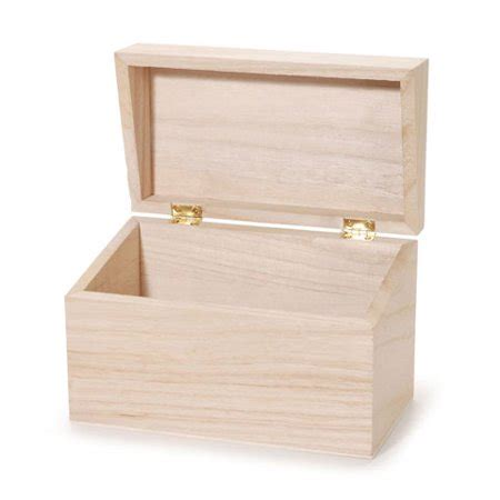 Wooden recipe box bulk Image