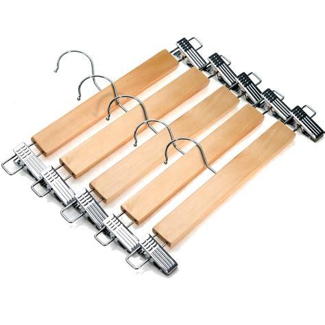 Wooden skirt hangers Image