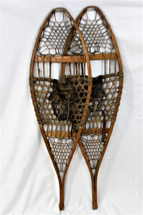 Wooden snowshoes Image
