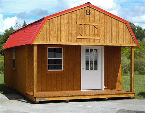 Wooden storage buildings Image