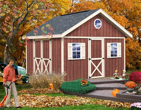 Wooden storage sheds kits Image