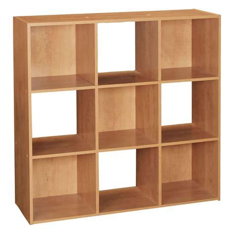 Wooden storage units Image