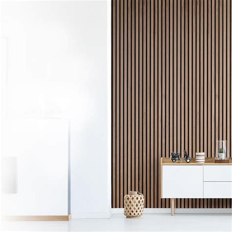 Wooden Strips On Wall