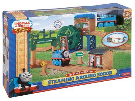 Wooden thomas the train set Image