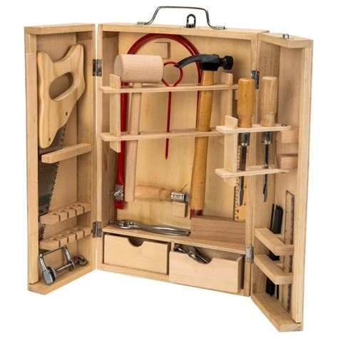 Wooden tool box smyths Image