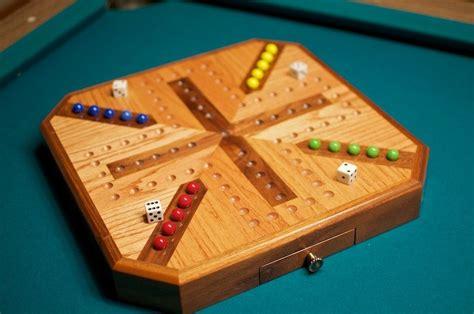 Wooden wahoo board game Image