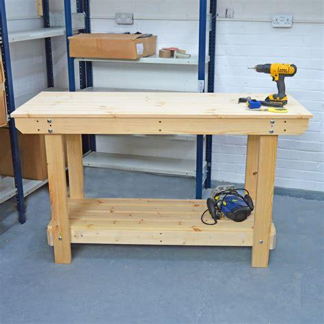 Wooden workbench Image