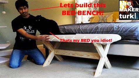 Woodshop 001 make an upholstered bed bench Image