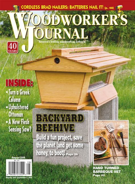 Woodworkers journal magazine Image