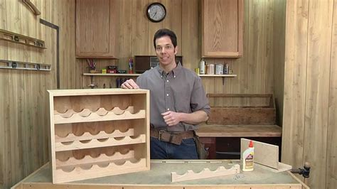 Woodworking around the home with the neighborhood carpenter 01 building a wine rack Image