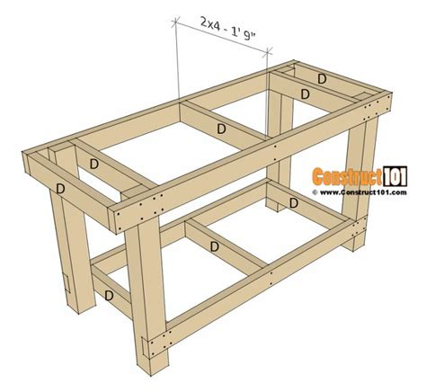 Woodworking bench plans free pdf Image