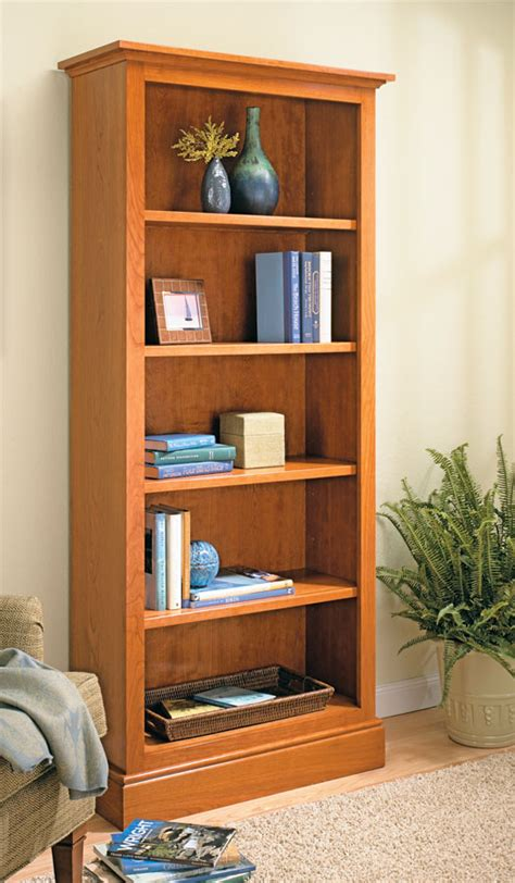 Woodworking bookcase plans Image