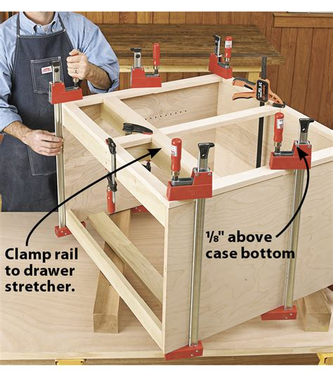 Woodworking cabinet making Image