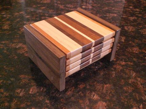 Woodworking coaster plans Image