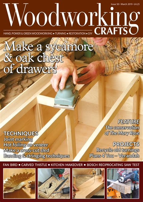 Woodworking crafts magazine Image