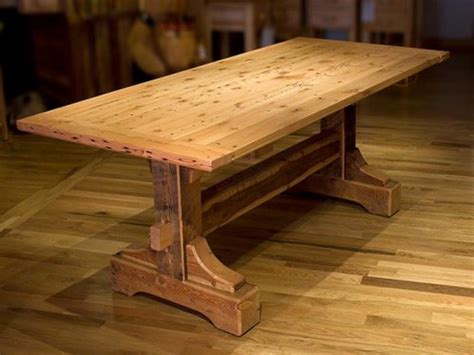 Woodworking dining table plans Image