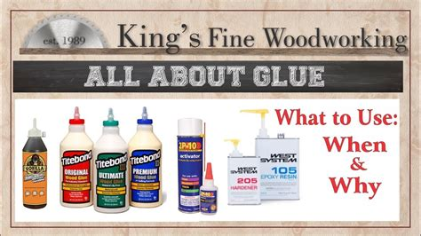 Woodworking glue what to use and how the science behind it first 30 min Image