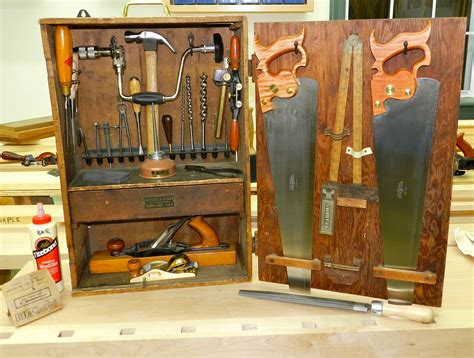 Woodworking hand tools starter kit Image