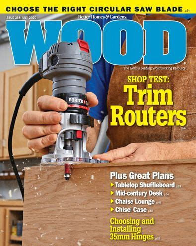 Woodworking magazine subscriptions Image