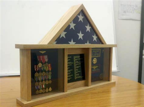 Woodworking military shadow box plans Image