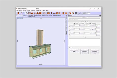 Woodworking planning software Image